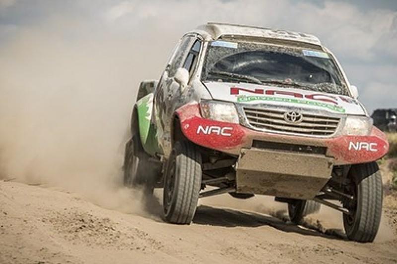 Molgo i Marton w Turkmen Desert Race