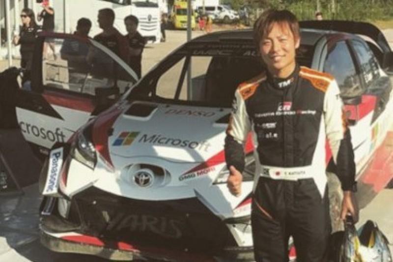 Katsuta testuje Yarisa WRC