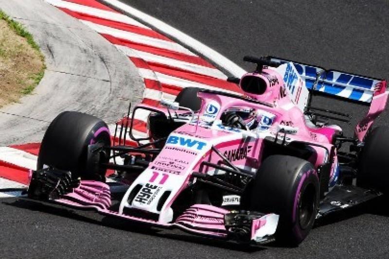 Force India otrzyma poprawki