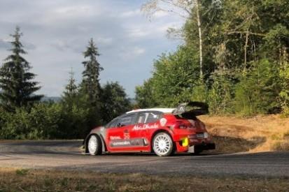 Loeb ustawia C3 WRC