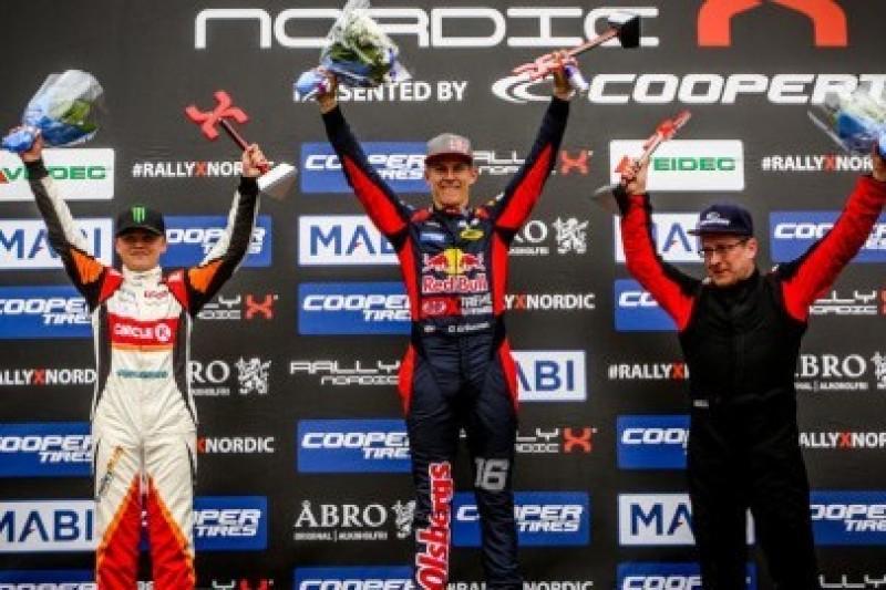Eriksson wygrał, Solberg prowadzi