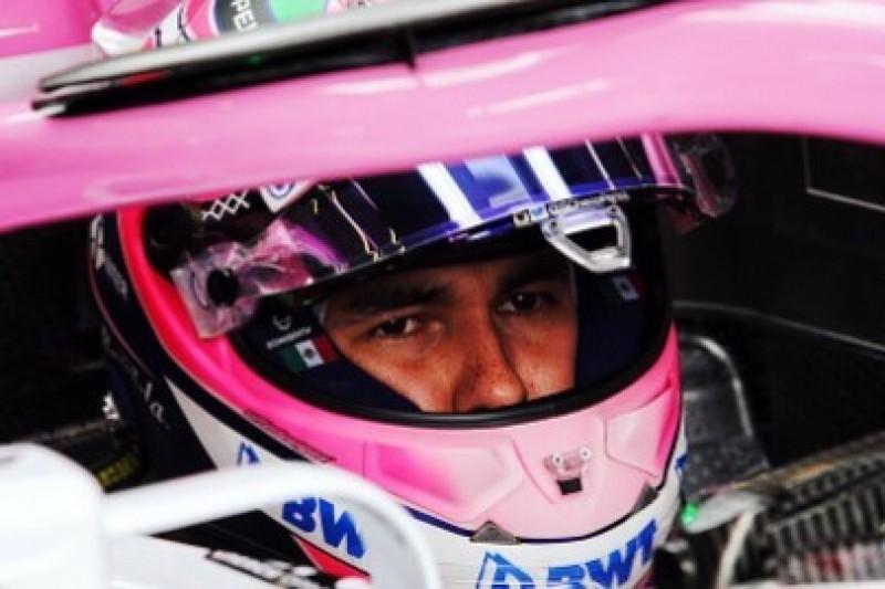 Perez rozmawia z McLarenem
