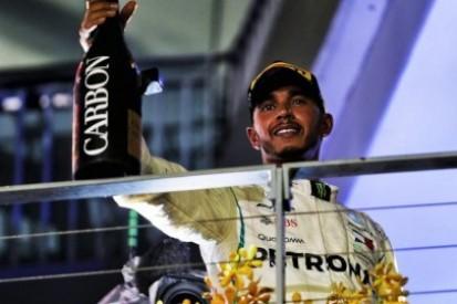 40 punktów przewagi Hamiltona