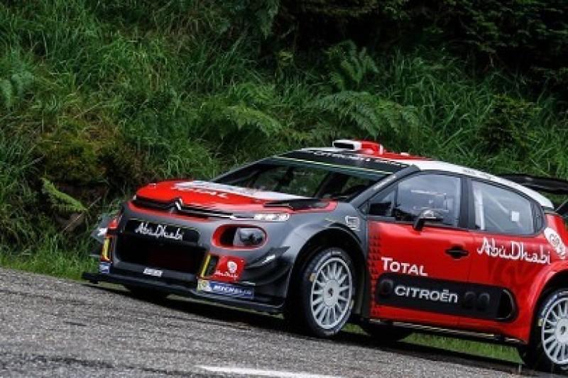 Ogier sprawdził C3 WRC