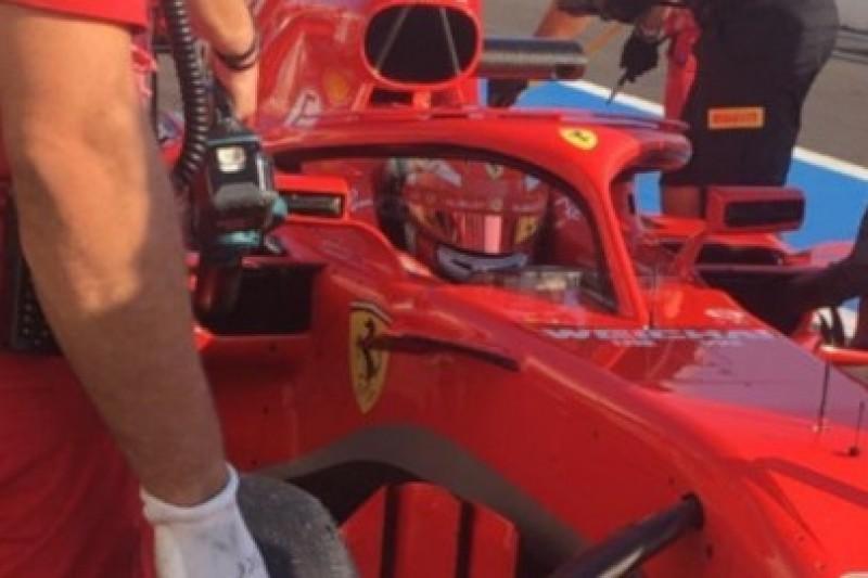 Leclerc w czerwieni
