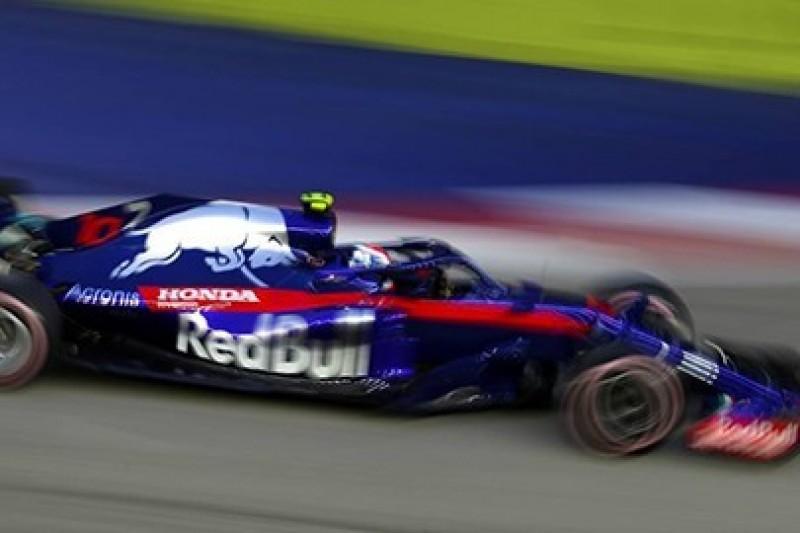 Poprawki dla samochodu Toro Rosso
