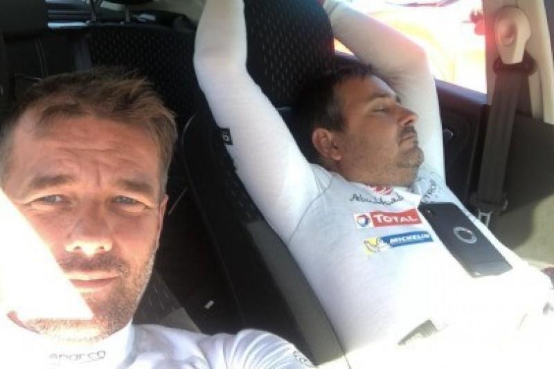 Loeb testował w Walii