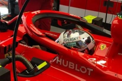 Udany początek Vettela