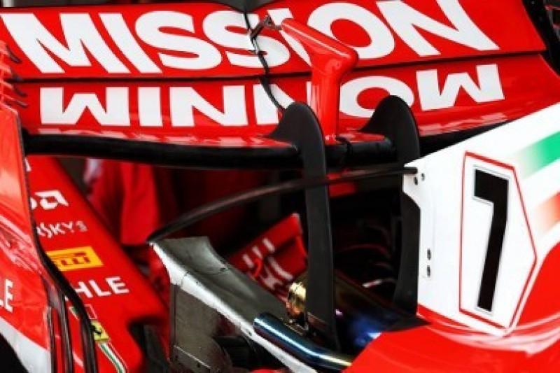 Zmienione malowanie Ferrari