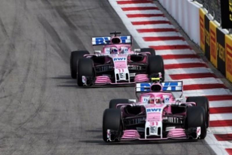 90 milionów funtów za Force India