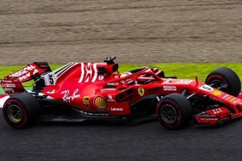 Ferrari szybciej zużywa opony