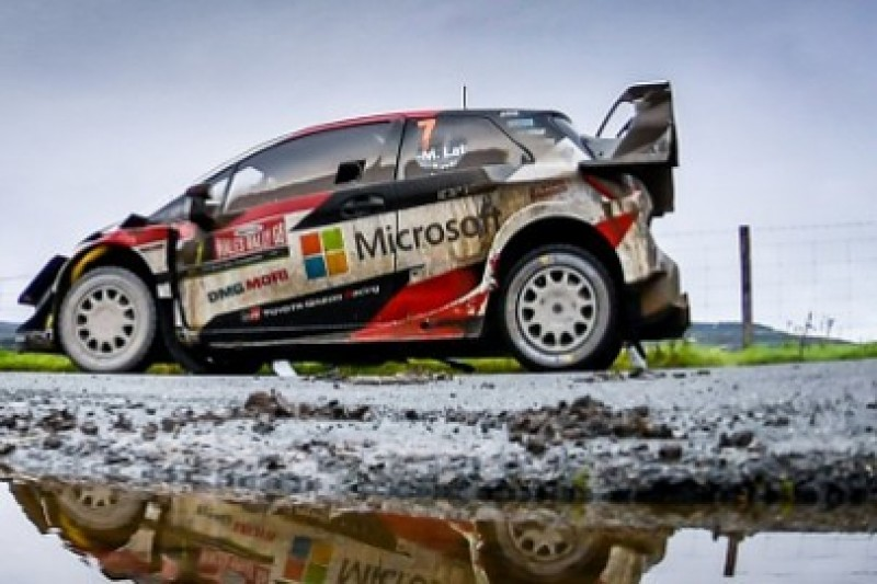 Latvala zgarnia Power Stage i fotel lidera
