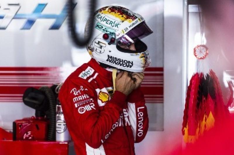 Złe podejście Vettela