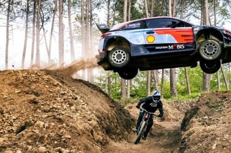 WRC vs. rower
