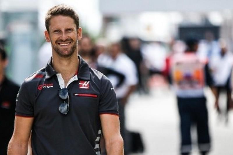Grosjean nie bał się o stratę miejsca w Haasie