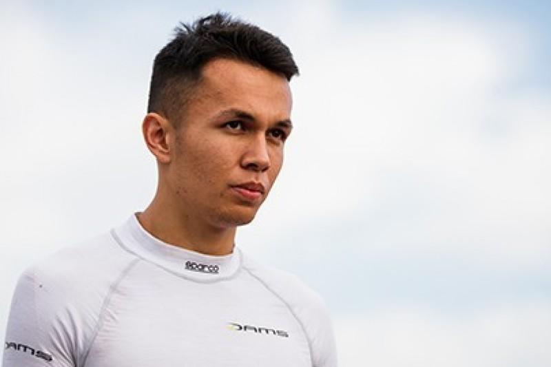 Albon na celowniku Toro Rosso