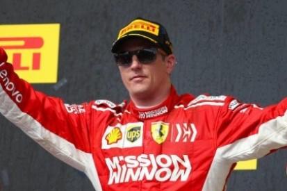 Kimi wygrał, koronacja odroczona