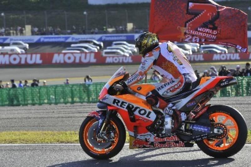 Honda nie zawsze zapewniała najlepszy motocykl Marquezowi