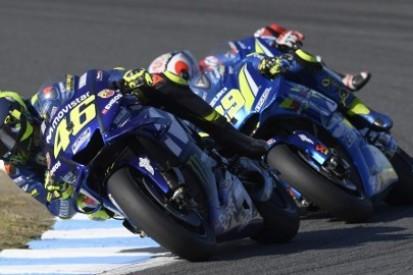 Rossi: Yamaha jest słabsza od Suzuki