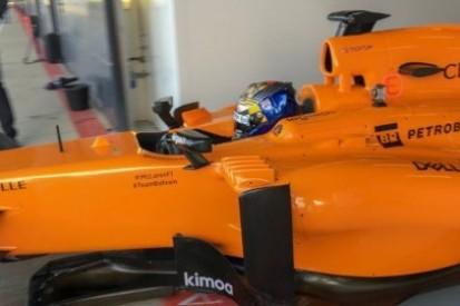 Ticktum jeździł McLarenem