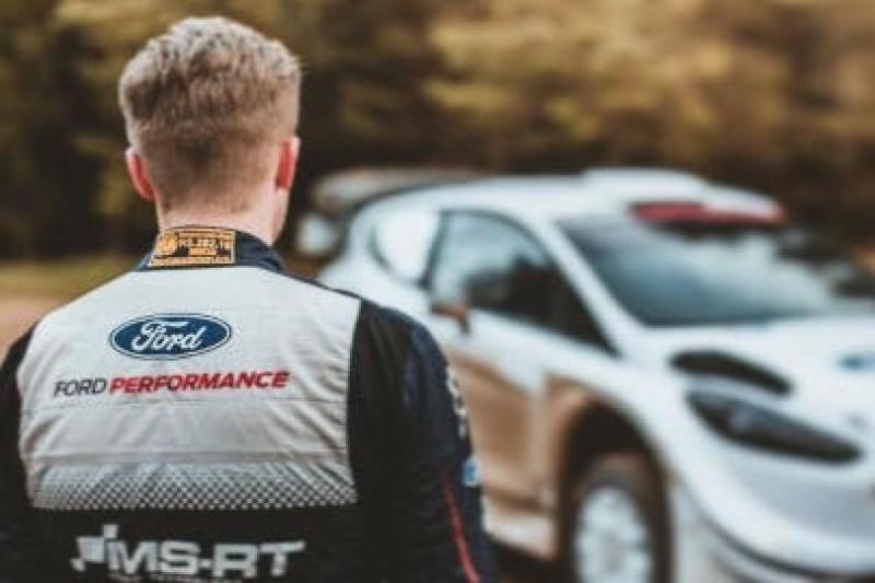 Greensmith testował Fiestę WRC