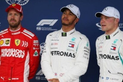 Setne pole position Mercedesa