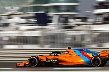 Alonso sprawdzi nowy samochód McLarena?