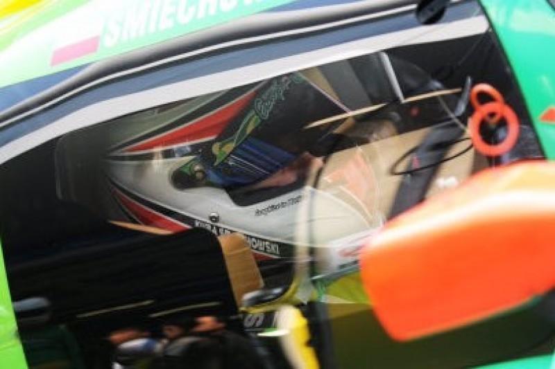 Śmiechowski na pole position