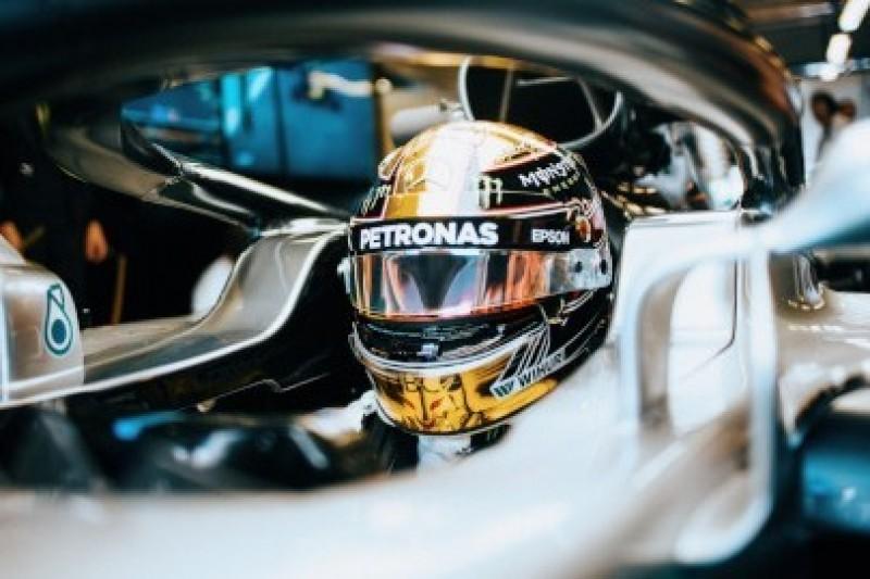 Hamilton przed Ferrari, awaria Ricciardo