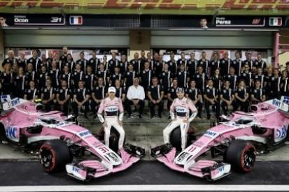 Force India wypadnie z nazwy