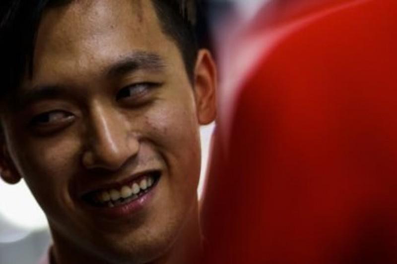 Zhou w Formule 2