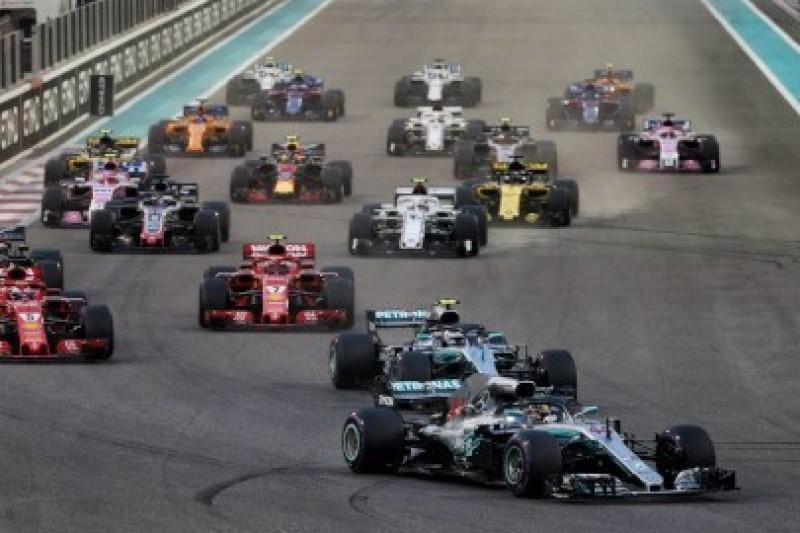 Kalendarz F1 zatwierdzony