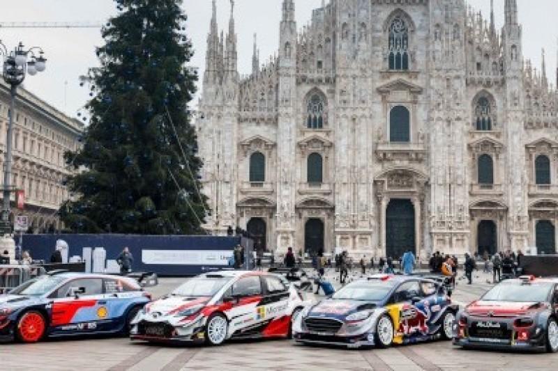 WRC pod katedrą