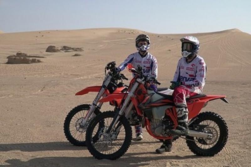 Giemza i Tomiczek trenowali w Dubaju