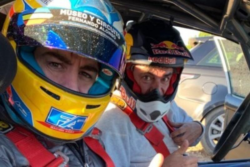 Sainz namówił Alonso