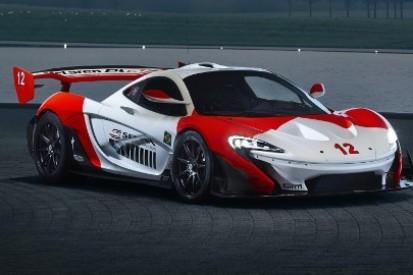 Specjalne barwy McLarena P1 GTR