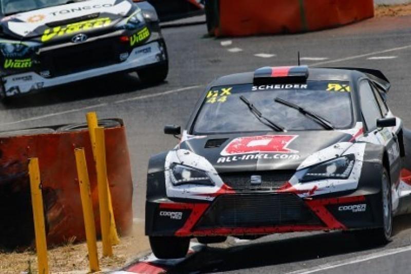 Scheider w pełnym sezonie World RX