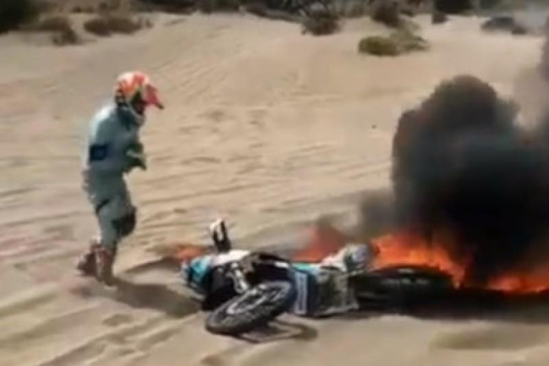 Kawasaki w płomieniach