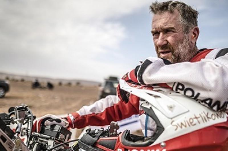 Rafał Sonik relacjonuje Dakar 2019