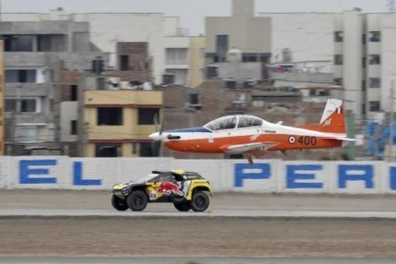 Loeb ścigał się z samolotem