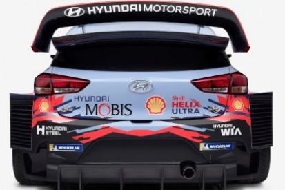 Zmienione oklejenie Hyundaia