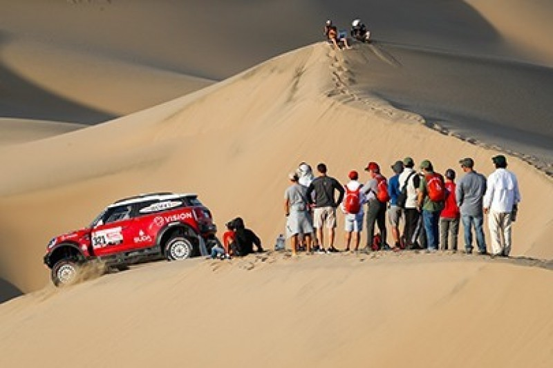 Sonik podsumowuje drugi etap Dakaru