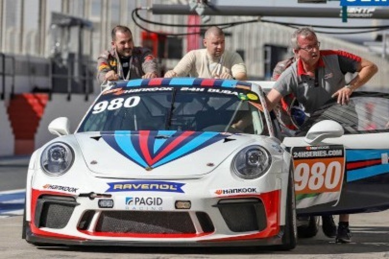 MRS naprawia Porsche