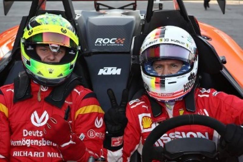 Vettel zadowolony z kontraktu Schumachera