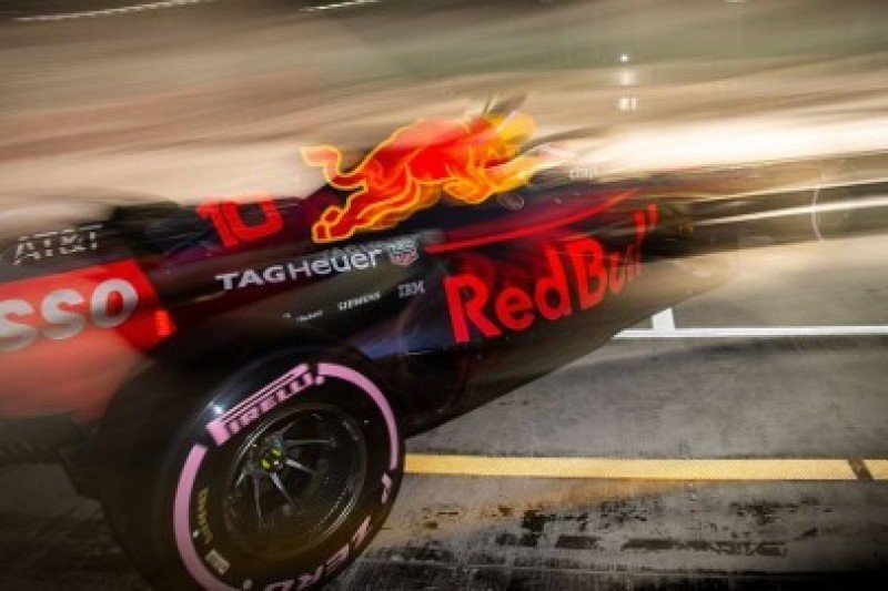 Napięty harmonogram w Red Bull Racing