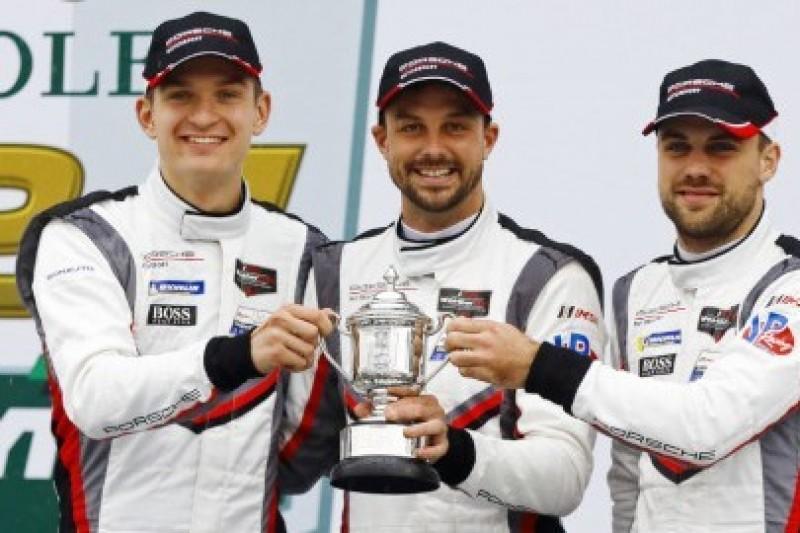Kara dla Forda, podium dla Porsche