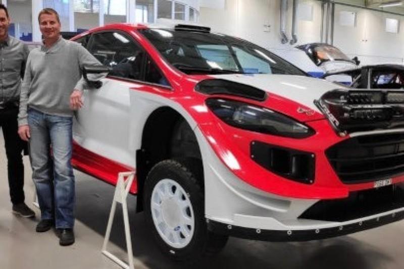 Tuohino odebrał Fiestę WRC