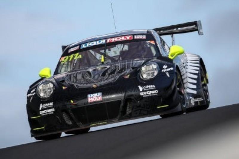 Dwa Porsche na czele