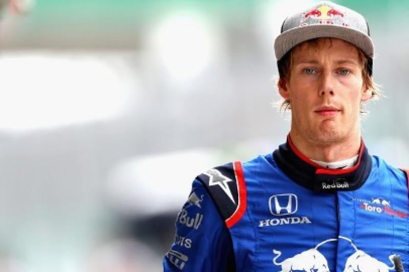 Hartley w symulatorze Ferrari