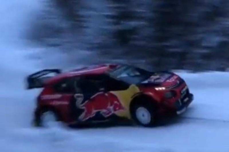Ogier na szwedzkim śniegu
